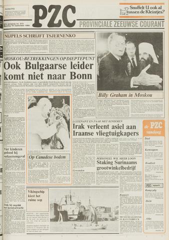 Provinciale Zeeuwse Courant 1984-09-10
