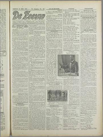 De Zeeuw. Christelijk-historisch nieuwsblad voor Zeeland 1943-07-23