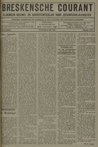 Breskensche Courant 1922-07-26