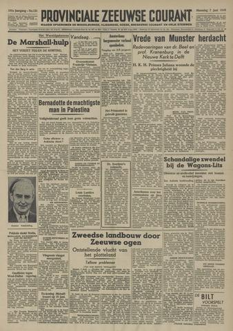 Provinciale Zeeuwse Courant 1948-06-07