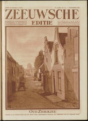 Ons Zeeland / Zeeuwsche editie 1930-11-07