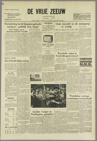de Vrije Zeeuw 1963-05-22