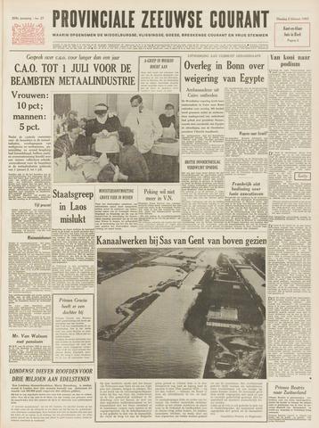 Provinciale Zeeuwse Courant 1965-02-02
