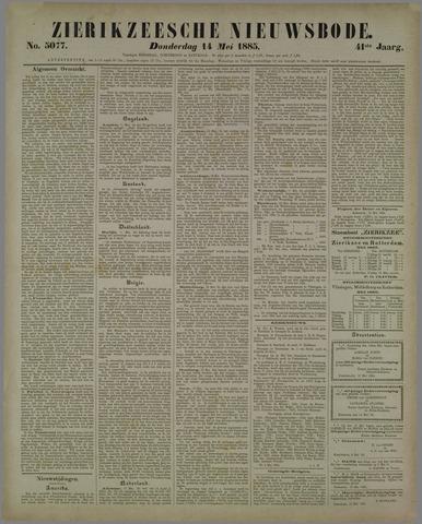 Zierikzeesche Nieuwsbode 1885-05-14