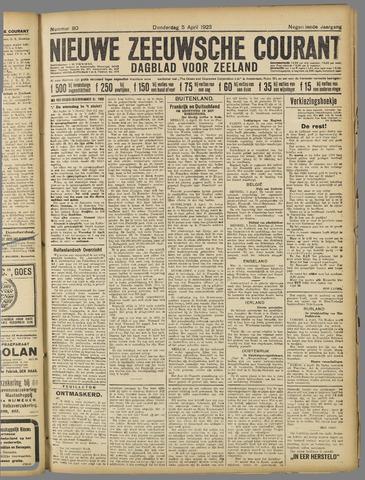 Nieuwe Zeeuwsche Courant 1923-04-05