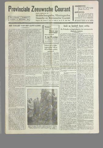 Provinciale Zeeuwse Courant 1940-09-14