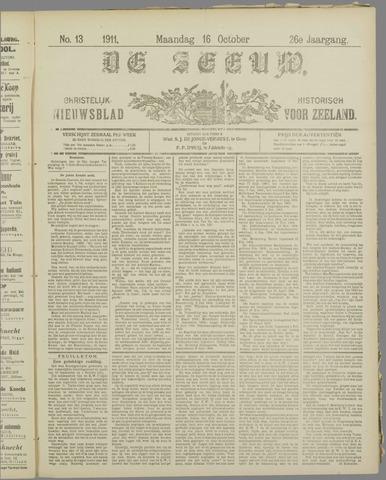 De Zeeuw. Christelijk-historisch nieuwsblad voor Zeeland 1911-10-16