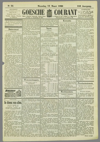 Goessche Courant 1929-03-18