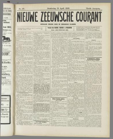 Nieuwe Zeeuwsche Courant 1908-04-23