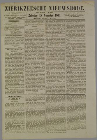 Zierikzeesche Nieuwsbode 1891-08-15