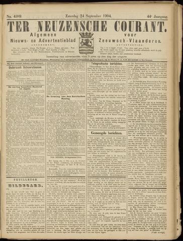 Ter Neuzensche Courant. Algemeen Nieuws- en Advertentieblad voor Zeeuwsch-Vlaanderen / Neuzensche Courant ... (idem) / (Algemeen) nieuws en advertentieblad voor Zeeuwsch-Vlaanderen 1904-09-24