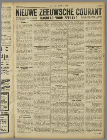 Nieuwe Zeeuwsche Courant 1921-03-31