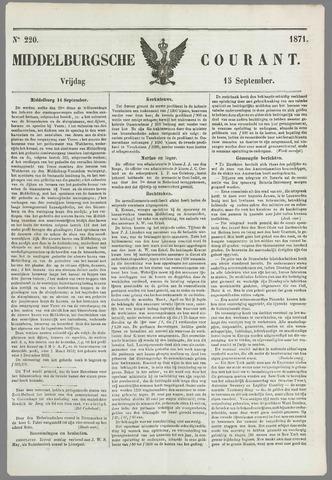 Middelburgsche Courant 1871-09-15