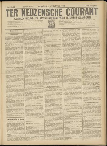 Ter Neuzensche Courant. Algemeen Nieuws- en Advertentieblad voor Zeeuwsch-Vlaanderen / Neuzensche Courant ... (idem) / (Algemeen) nieuws en advertentieblad voor Zeeuwsch-Vlaanderen 1936-08-31
