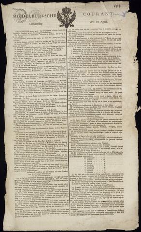 Middelburgsche Courant 1814-04-28