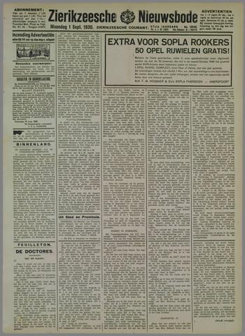 Zierikzeesche Nieuwsbode 1930-09-01