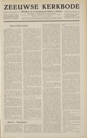 Zeeuwsche kerkbode, weekblad gewijd aan de belangen der gereformeerde kerken/ Zeeuwsch kerkblad 1958-10-17