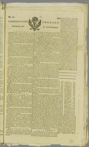 Middelburgsche Courant 1809-04-27