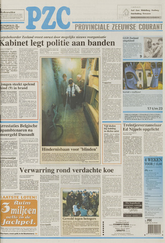 Provinciale Zeeuwse Courant 1997-01-24