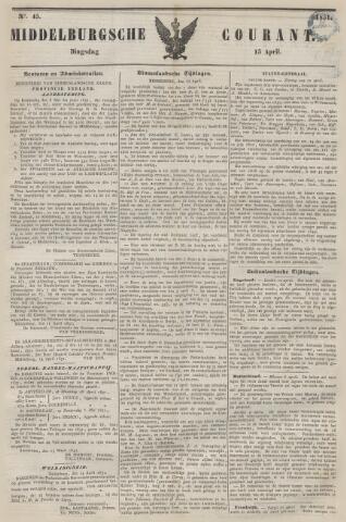 Middelburgsche Courant 1851-04-15
