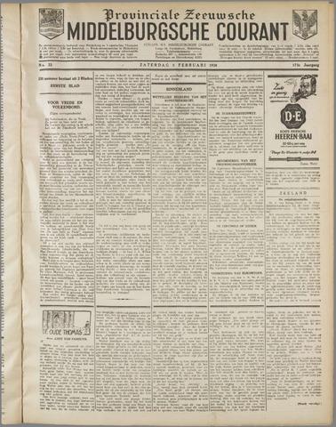 Middelburgsche Courant 1930-02-08