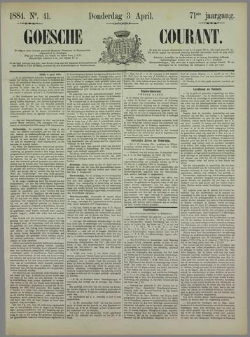 Goessche Courant 1884-04-03