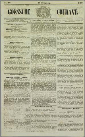Goessche Courant 1859-09-05