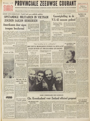 Provinciale Zeeuwse Courant 1963-11-02