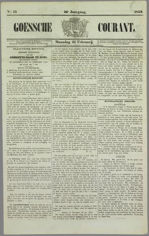Goessche Courant 1859-02-21