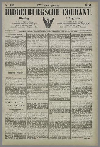 Middelburgsche Courant 1884-08-05