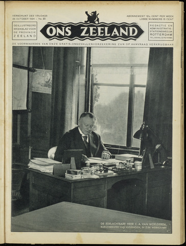 Ons Zeeland / Zeeuwsche editie 1934-10-26