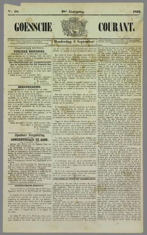Goessche Courant 1861-09-05