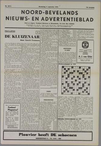 Noord-Bevelands Nieuws- en advertentieblad 1975-09-11