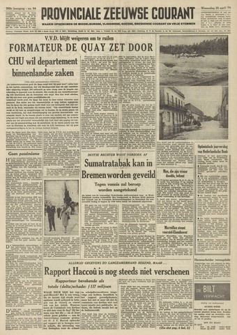 Provinciale Zeeuwse Courant 1959-04-22