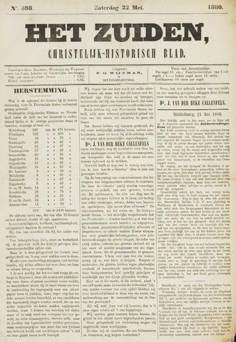 Het Zuiden, Christelijk-historisch blad 1880-05-22