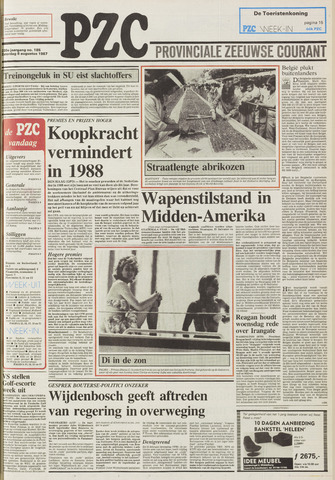 Provinciale Zeeuwse Courant 1987-08-08
