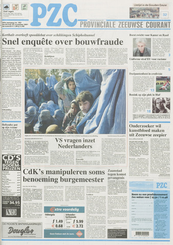Provinciale Zeeuwse Courant 2001-11-29