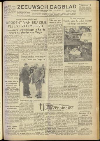 Zeeuwsch Dagblad 1954-08-25