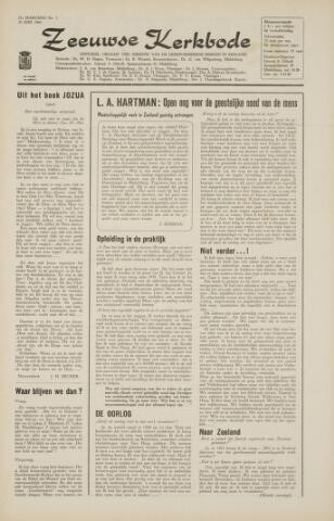 Zeeuwsche kerkbode, weekblad gewijd aan de belangen der gereformeerde kerken/ Zeeuwsch kerkblad 1966-07-01