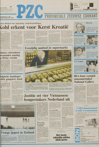 Provinciale Zeeuwse Courant 1991-12-16