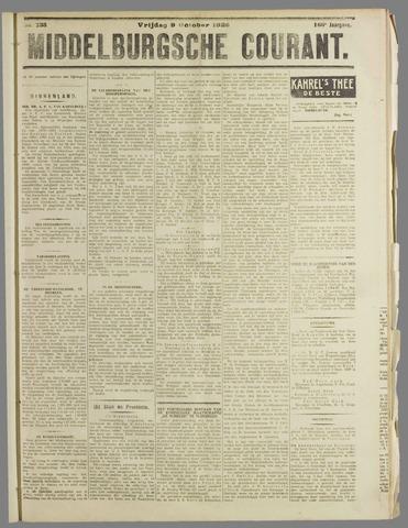 Middelburgsche Courant 1925-10-09