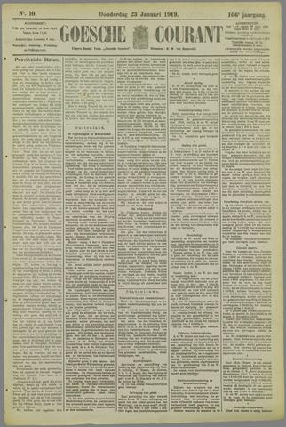 Goessche Courant 1919-01-23