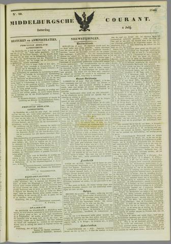Middelburgsche Courant 1846-07-04
