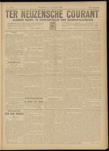 Ter Neuzensche Courant. Algemeen Nieuws- en Advertentieblad voor Zeeuwsch-Vlaanderen / Neuzensche Courant ... (idem) / (Algemeen) nieuws en advertentieblad voor Zeeuwsch-Vlaanderen 1932-03-02