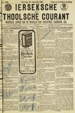 Ierseksche en Thoolsche Courant 1912-08-10