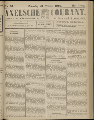 Axelsche Courant 1916-10-21
