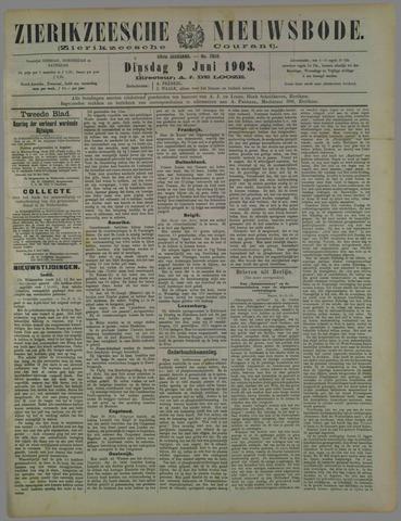 Zierikzeesche Nieuwsbode 1903-06-09