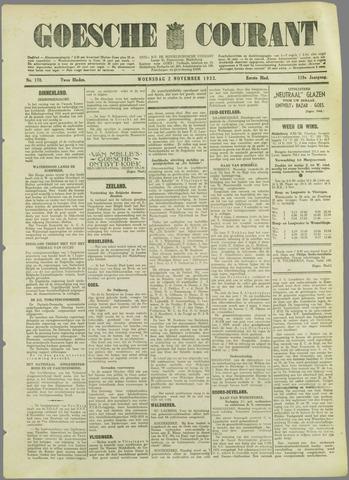 Goessche Courant 1932-11-02