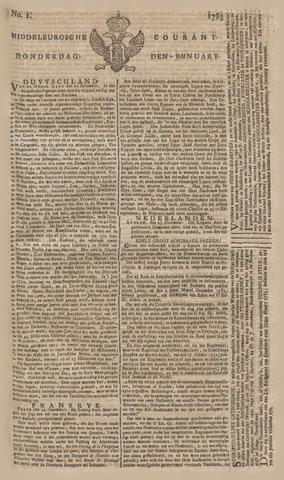 Middelburgsche Courant 1783