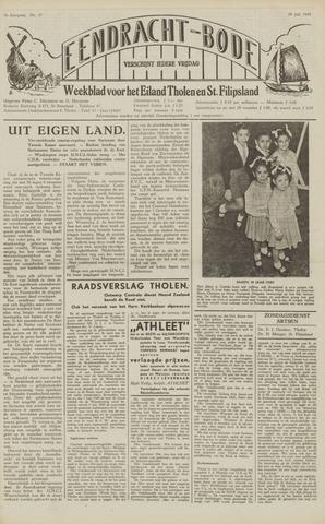 Eendrachtbode (1945-heden)/Mededeelingenblad voor het eiland Tholen (1944/45) 1949-07-29